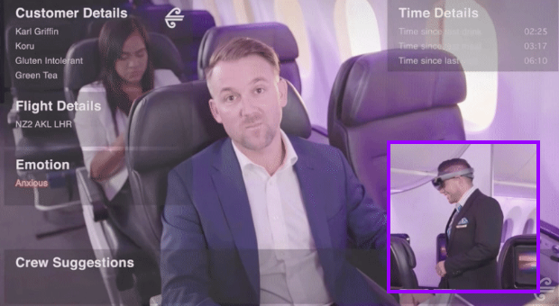 Screen shot - New Zealand Airlines AR Beta