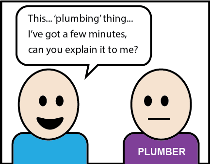 Feature image- If Plumbers Had to Work Like Digital Marketers