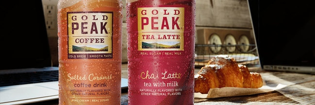 Gold peak iced tea campaign
